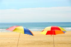 Free Beach Umbrellas Royalty Free Stock Photography - 1642997