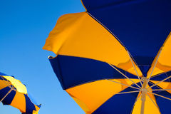 Beach umbrellas Royalty Free Stock Images