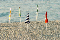 Beach Umbrellas Stock Photography