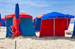 Beach umbrellas Royalty Free Stock Photos