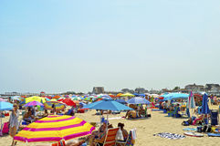 Beach Umbrellas Royalty Free Stock Photography
