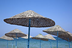 Beach Umbrellas - Vacation Stock Photography
