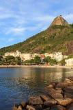 Beach of Urca Sugarloaf mountain, Rio de Janeiro Stock Photos