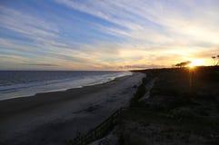 Beach in Uruguay Stock Image