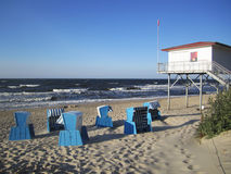 The beach of Usedom Stock Photos