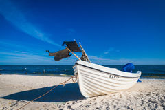 Beach of Usedom Royalty Free Stock Images