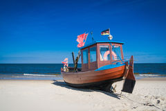 Beach of Usedom Stock Photography
