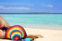 Beach vacation Royalty Free Stock Photos