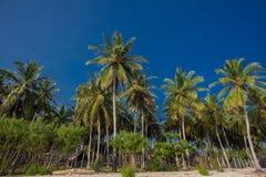 Beach vacation accessories. Beach on the Indian Ocean island of Sri Lanka. Coast Pasikudah Stock Images