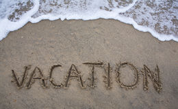 Beach Vacation Royalty Free Stock Photo