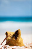 Beach vacation details Stock Images