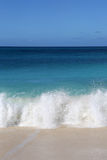 Beach, vacation sea and waves Stock Photography