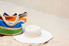 Beach vacation Stock Images