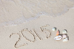 2015 beach vacation Stock Photos