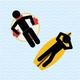 Beach vacations Stock Image
