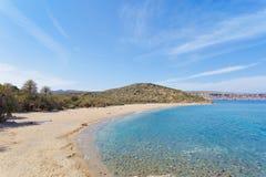 Beach of Vai. Crete - Greece - Beach of Vai Stock Photos
