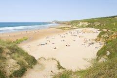 Beach of Valdearenas, Spain Royalty Free Stock Image