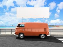 Beach van Stock Photography