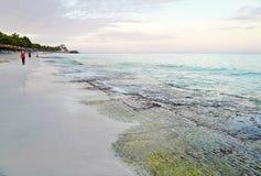 The beach of Varadero in Cuba Stock Image