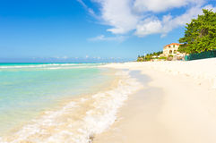 The beach of Varadero in Cuba Royalty Free Stock Photo