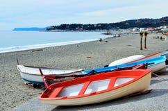 Beach Varazze Royalty Free Stock Images