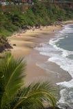 Beach in Varkala in Kerala state Stock Photo