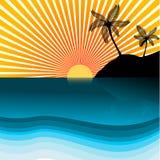 Beach Vector Stock Image