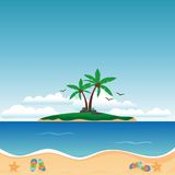 Beach Vector Stock Images