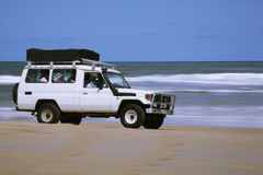 Beach Vehicle stock image