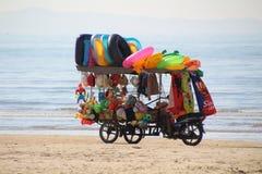 Beach Vendor royalty free stock photos