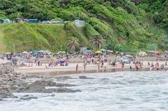 Beach at Victoria Bay Stock Photos