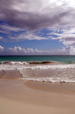 Beach on vieques stock image