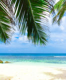 Beach view Stock Photography