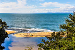 Beach view in Abel Tasman National Park, New Zealand Stock Photography