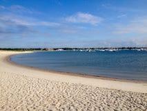Beach. View of Atlantic ocean embankment near Hyannis town, Massachusetts, USA Stock Photography