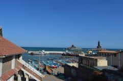 A beach view Stock Photo