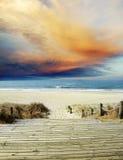 Beach view Stock Image