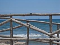 Beach view, Crete, Greece Royalty Free Stock Photos
