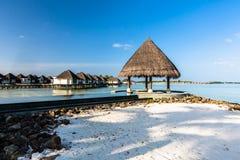Beach view at Four Seasons Resort Maldives at Kuda Huraa Stock Image