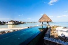 Beach view at Four Seasons Resort Maldives at Kuda Huraa Stock Photos
