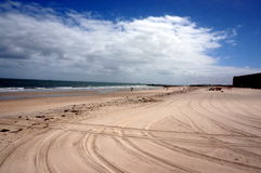 Beach view in Glenelg Royalty Free Stock Photo