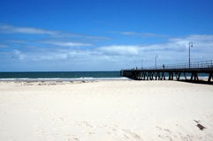 Beach view in Glenelg Royalty Free Stock Image