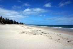 Beach view in Glenelg Royalty Free Stock Photos