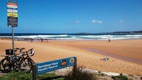 Beach View @ Narrabean Head Aquatic Reserve Royalty Free Stock Photos