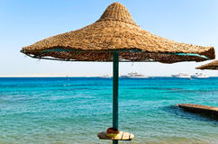 Beach view of Red sea Royalty Free Stock Images