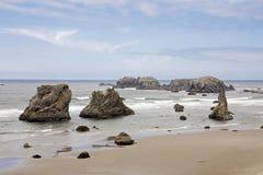 Rocks in the ocean Royalty Free Stock Photo