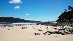 Beach View @ Sea Rocks Royalty Free Stock Photography