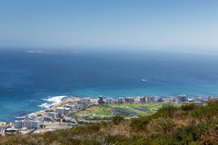 Beach view from Signal Hill Stock Photography