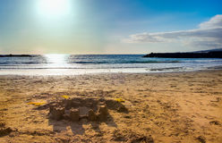 Beach view at Tenerife, Spain Stock Photo