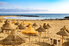 Beach view at Tenerife, Spain Royalty Free Stock Image